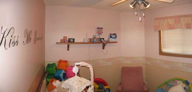 MA378-dekorerad barnkammare